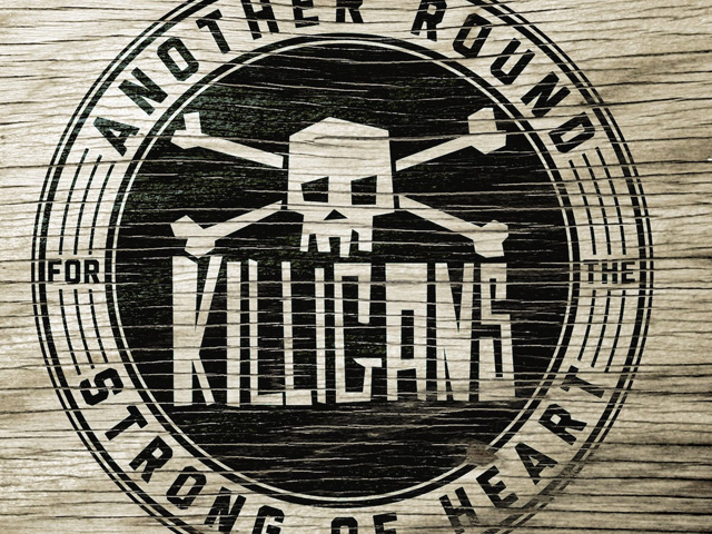 "Killigans ""Another Round…"" Album Artwork"