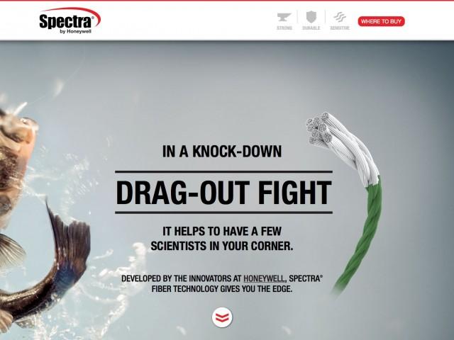Spectra Microsite Design