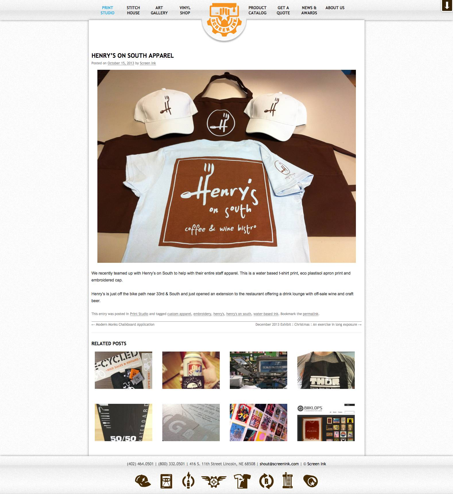 Screen_Ink_Henry's_on_South_apparel_-_2014-10-29_11.05.18